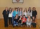 Koszykówka dziewcząt - wręczenie medali