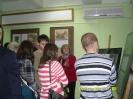 Uczniowie II LO w Miejskiej Bibliotece Publicznej